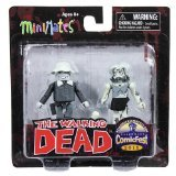 Minimates: The Walking Dead B&W Series Winter Coat Dale & Female Zombie