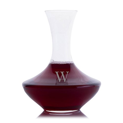 Personalized Crystalize Crystal Wonder Wine Decanter Engraved & Monogrammed – Beautiful Wedding Gift – Great Holiday & Christmas Gift!