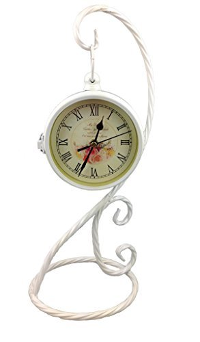 GMMH Reloj De Mesa Nostalgie 40cm de Doble Cara Antiguo Vintage ...
