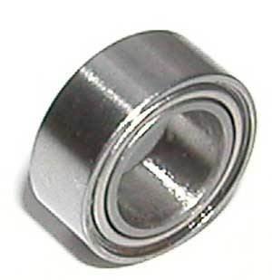 SR4ZZ 1//4 x 5//8 x 0.196 inch 10 PCS Stainless Steel Ball Bearings