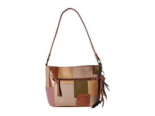 - The Sak Women's Indio Leather Demi Mauve Multi Patch One Size