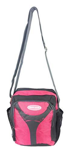 Maxx Gear Unisex Excursion Organizer Shoulder Bag Day Pack (Pink)