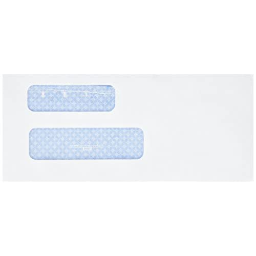 Lovely Quality Park Double Window Security Invoice Envelope - 9 invoice envelopes