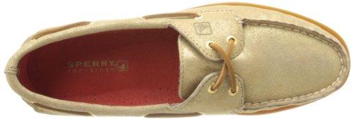 Sperry Top Sider–Ao de La Mujer L Boat Shoe Dorado