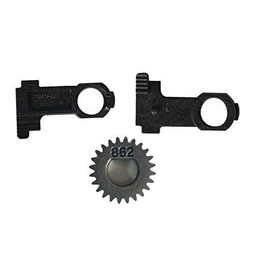 105934-059 Platen Roller Buckle & Gears for Zebra GK420D Direct Thermal Label Printer 203dpi by PARTSHE (Image #1)