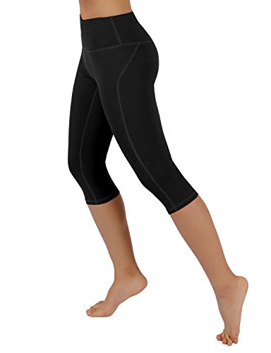 ODODOS-Power-Flex-Yoga-Capris-Pants-Tummy-Control-Workout-Running-4-way-Stretch-Yoga-Capris-Leggings