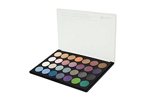 BH Cosmetics Eyeshadow Palette, 28 Color, Foil Eyes 2