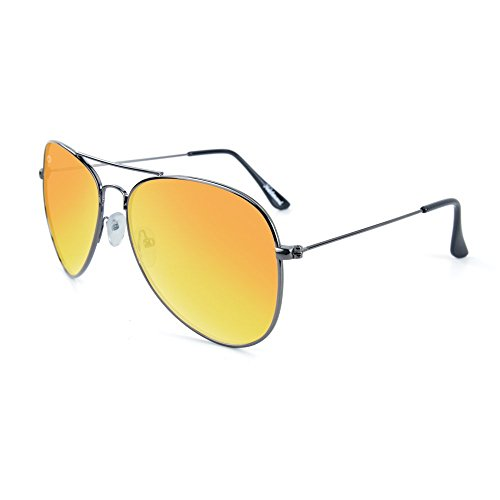 Polarized Knockaround Sunset Gunmetal Sunglasses Mile Highs EOaqO