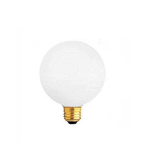 Med Bulb 60w (SYLVANIA LIGHTING DECORATIVE LIGHT BULBS 60W G16.5 BULB SOFT WHT MED 2P)