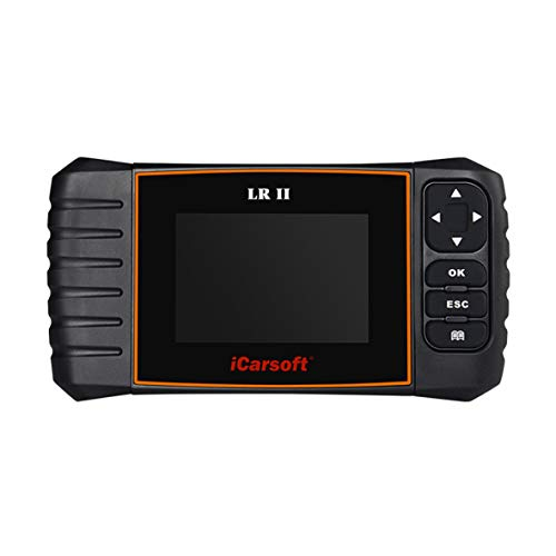 iCarsoft LR II Land Rover/Jaguar OBD Scanner Tool Multi Systems Abs SRS