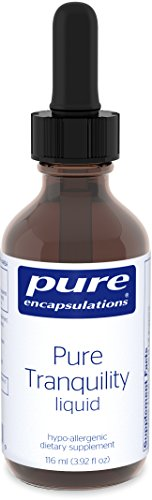 Pure Encapsulations - Pure Tranquility Liquid - Hypoallergenic Supplement to Support Relaxation and Moderate Occasional Stress* - 116 ml (3.92 fl oz) (Supplement Liquid Stress)