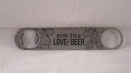 (Samuel Adams 'For the Love of Beer' Bartenders Premium Steel Bottle Opener)