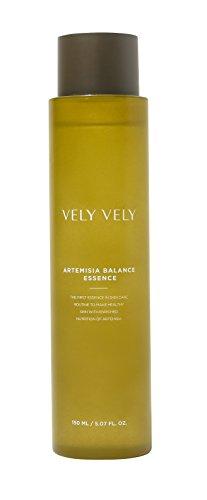 VELY VELY Artemisia Balance Essence, Botanical, Artemisia Extract, No Artificial Fragrance, Brightening Glow, Paraben-Free(150ml)