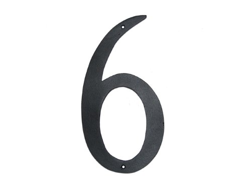 6 house numbers - 8
