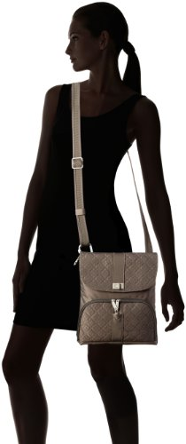 Theft Truffle Champagne Shoulder Front Flap Size One Bag Anti Travelon 1YPq5nw1z