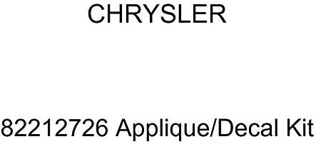 Chrysler Genuine 82212726 Applique//Decal Kit
