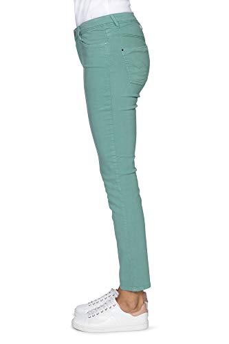Verde Liso Mujer Menta Para Kanope Vaqueros Slim 1Xx00z