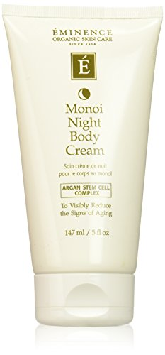 Eminence Monoi Age Corrective Night Body Cream, 5 Ounce
