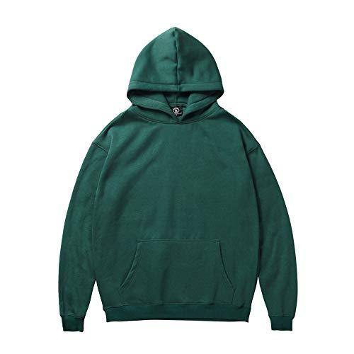 DaySeventh Men Woman Winter Santa Claus Print Long Sleeve Hooded Sweatshirt Tops Blouse -