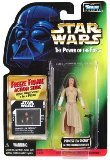 Star Wars Power of the Force Freeze Frame 3 3/4 Princess Leia Organa in Ewok Celebration Outfit Action Figure