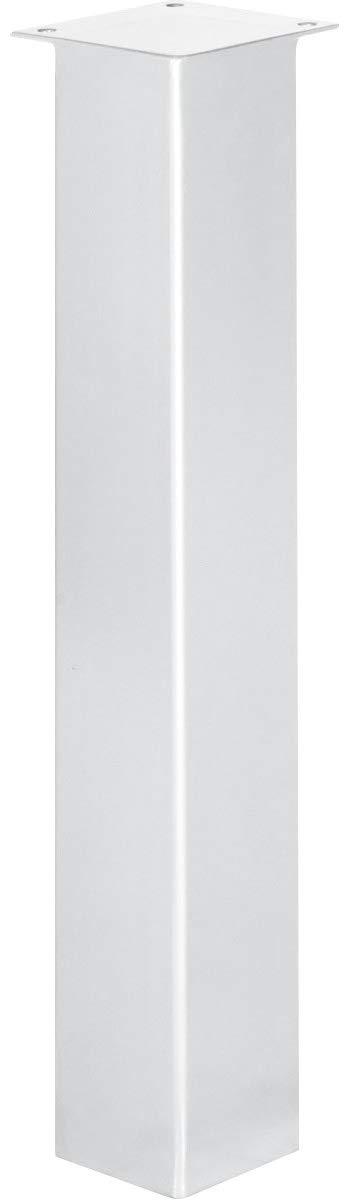 Negro Intenso 1 Piezas Altura: 90 cm Perfil Cuadrado 40x40 mm HOLZBRINK Pata de la Mesa de Acero HLT-14A-F-90-9005