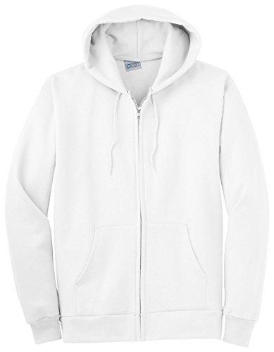 Port & Company Men's Big And Tall Full-Zip Hooded Sweatshirt