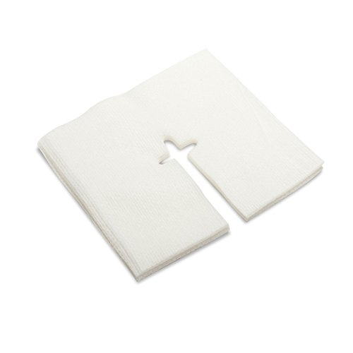MediChoice IV Drain Split Sponge, Non-Woven, Sterile, Hypoallergenic, 4x4 inch, White, 1314SPNG5002 (Case of 300)