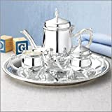 Silveplated 4 Piece Coffee Set