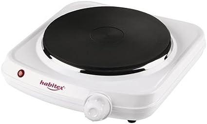 Habitex 1450Y1 - Hornillo Electrico 1500W 1 Placa Ha: Amazon ...
