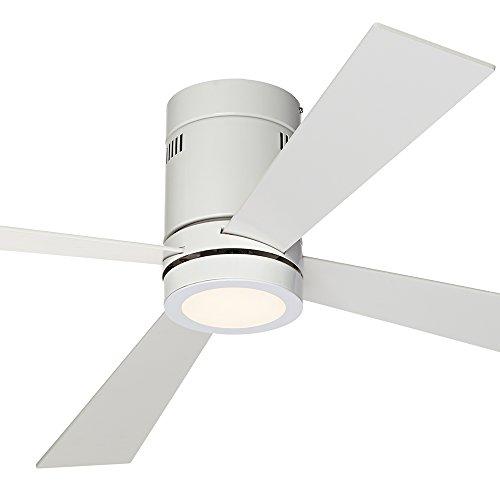 "52"" Casa Vieja Revue White - LED Ceiling Fan"