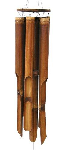 "Cohasset Gifts 139 Cohasset Plain Antique Giant Bamboo Wind Chime, Longest Tube Approximately 31.5"""