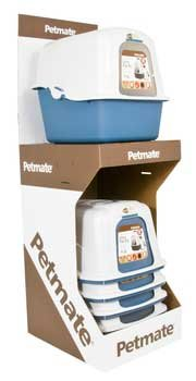Large Deluxe Hooded Litter Box (Colors May Vary)