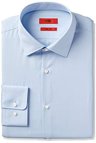 HUGO by Hugo Boss Men's Dress Shirt, Light Blue 14.5R