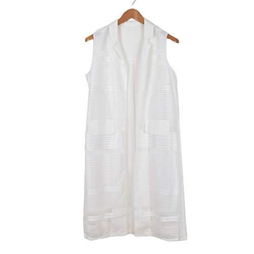 Coat Split Army Mujeres White Gabardina Up Turn Enosiegoiw Lace Pin Down Neck Hem Green Long qCcwF1