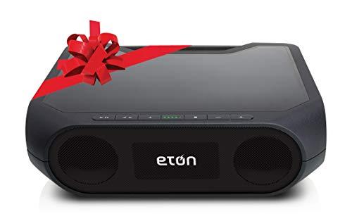 Eton Rukus Speaker System - Wireless Speaker - Black - Bluet