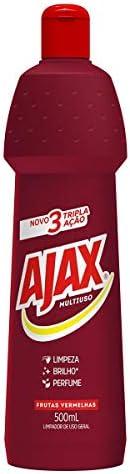 Limpador Diluível Ajax Multiuso Frutas Vermelhas 500Ml