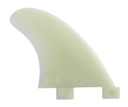 FCS GL Longboard Side Bite Glass Flex Fins (Set of 2) by FCS