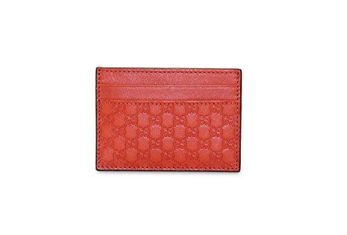 Gucci Microguccissima Leather Money Clip, Orange 308915