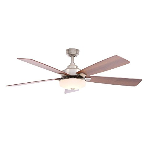 Home decorators collection cameron 54 led ceiling fan brushed home decorators collection cameron 54 led ceiling fan brushed nickel by home decorators collection aloadofball Choice Image