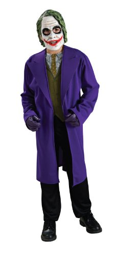 [Batman The Dark Knight, Tween Size Joker Costume] (Joker Costumes Kids)
