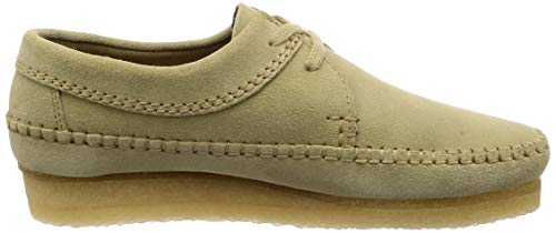 Maple Clarks Originals Chaussures Weaver Homme Suede OH4BR