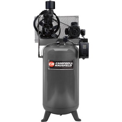 Grizzly CE7000 7.5 HP Campbell Hausfeld Two Stage Air Compressor, 80-Gallon