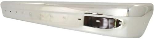 ECONOLINE VAN 94-04 REAR BUMPER,Except Step Type,w//pad,w//o Rear Object Sensors