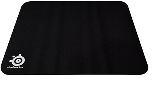SteelSeries Rubber Base Gaming Mouse Pad (450mm x 400mm, Black) (Mouse Pad Rubber Base)