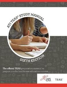 Ati Teas Review Manual  Sixth Edition Revised