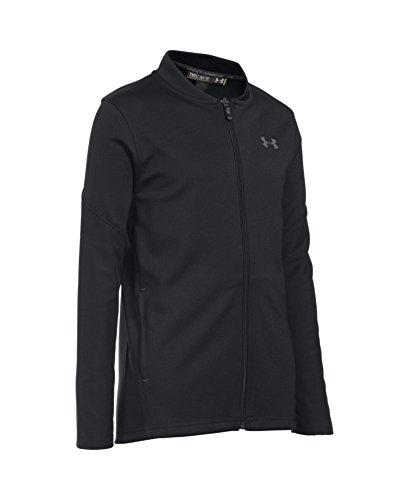 - Under Armour Boys' Challenger Warm-Up Jacket, Black (002)/Graphite, Youth Small