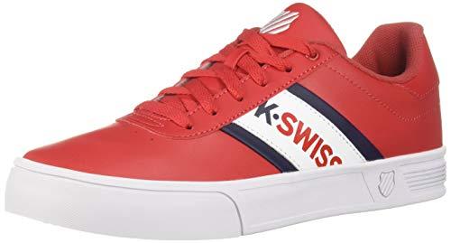 K-Swiss Men's Court Lite Spellout Sneaker Chili Pepper/Navy/White 8 M US ()
