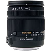 Sigma 18-125mm f/3.5-5.6 AF DC OS HSM Zoom Lens for Nikon Digital SLR Cameras