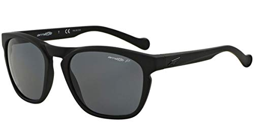 Arnette Groove Unisex Polarized Sunglasses - 447 81 Fuzzy Black Grey ab5e63a7e525