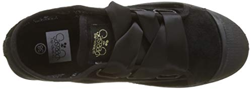 Temps 02 Basic Lace Velvet Black Donna Des Nero velvet Sneaker Black Le Cerises dXnO4dx